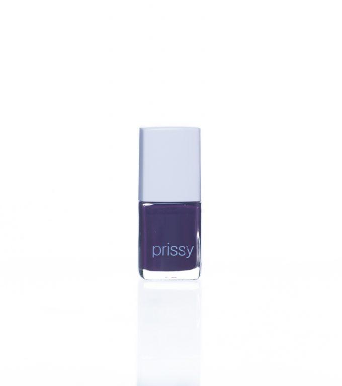 Gorgeous Prissy Nail Polish Dark Purple
