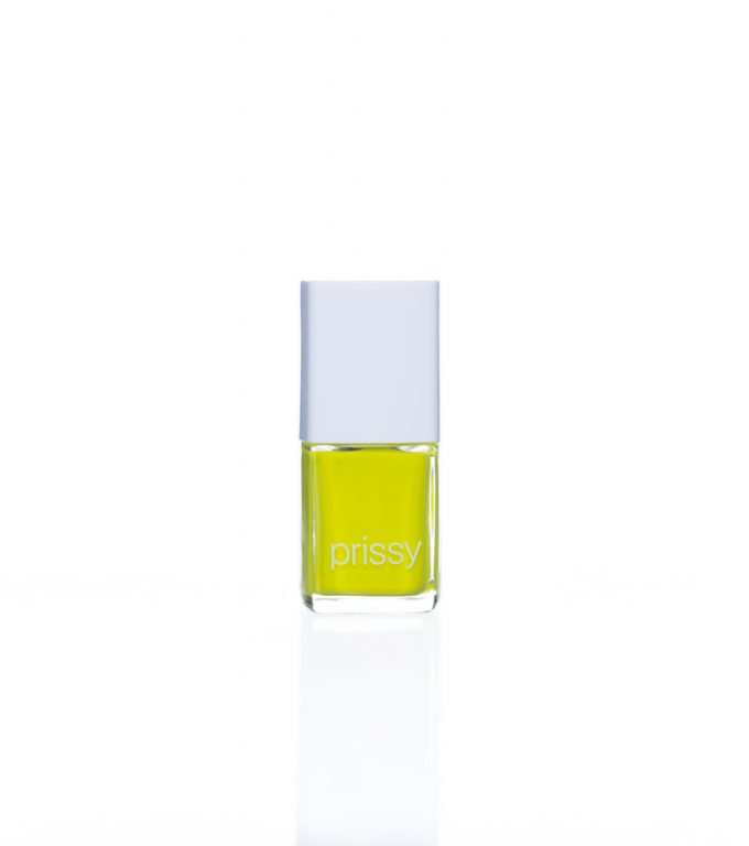 Obsession Prissy Nail Polish Lime Yellow Green