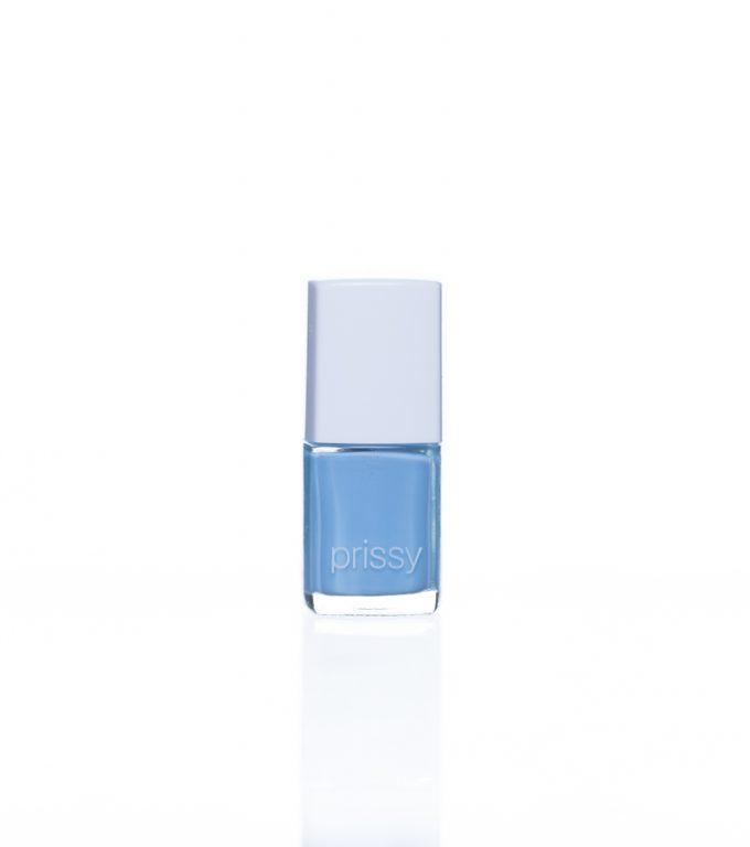 Capable Prissy Nail Polish Pastel Black Based Blue
