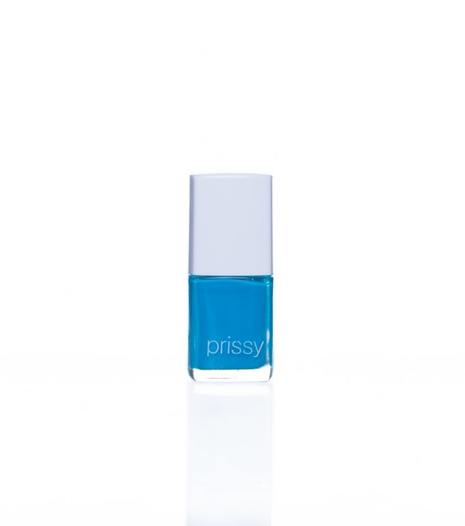 Hyper Prissy Nail Polish Bright Blue