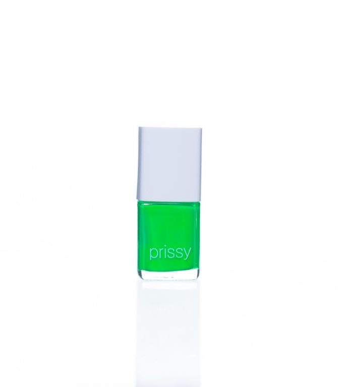Perfect Prissy Nail Polish Fluro Neon Green
