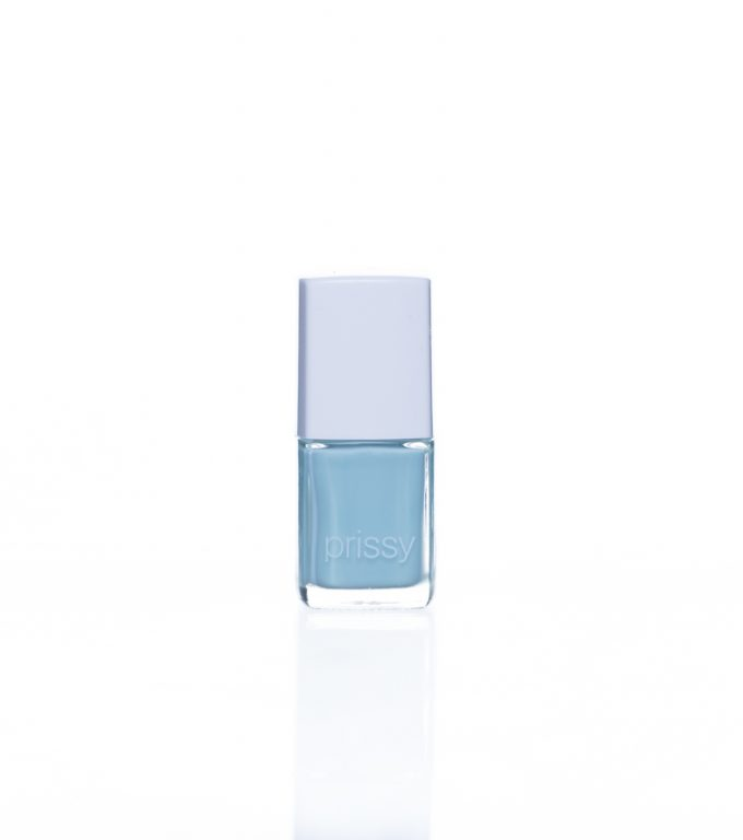 Effortless Prissy Nail Polish Black Base Mint Green