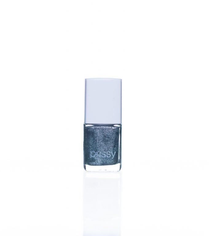 Glitz Silver Glitter Prissy Nail Polish